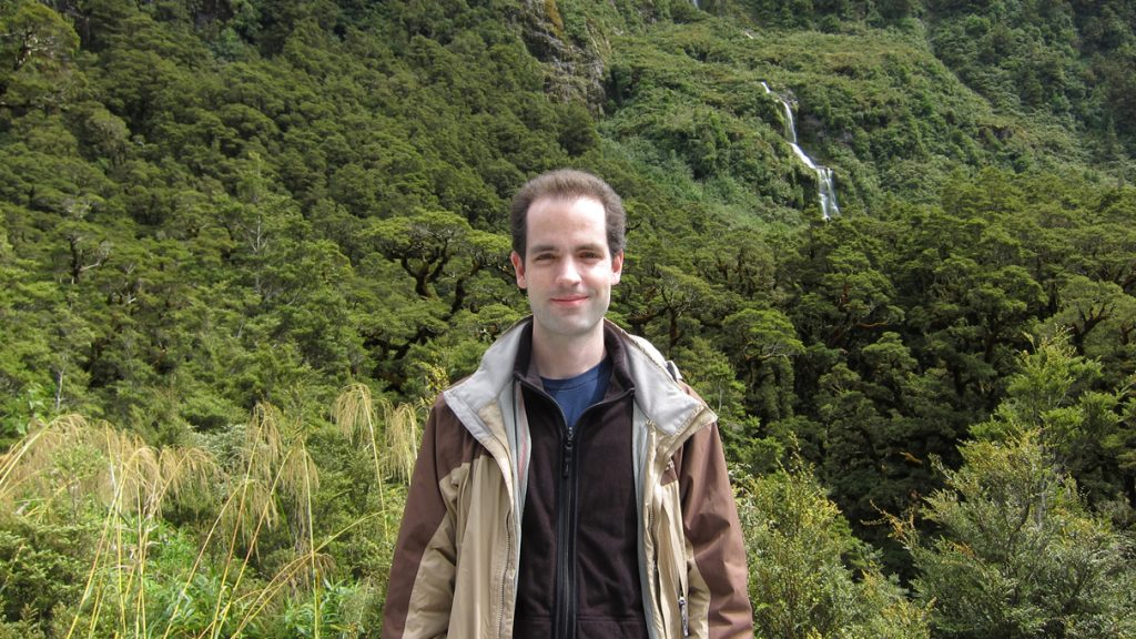 Michael Love CN'00 creator of Pleco